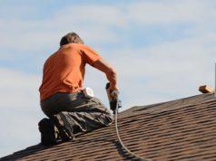 Sydney worker restoring a roof