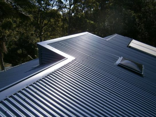 Gunmetal colorbond roof in Western Sydney